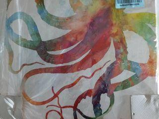 16x16 Octopus Art