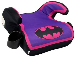 KidsEmbrace Fun Ride Backless Booster   Batgirl  Purple