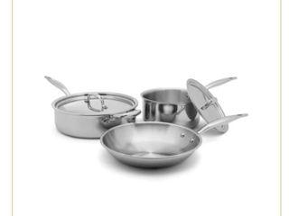 Heritage Steel 5 Piece Pan and Skillet Set
