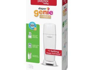 Playtex Diaper Genie Complete White Diaper Pail