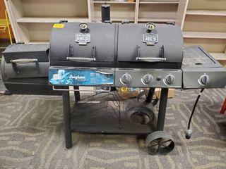Oklahoma Joes Smoker Grill Used