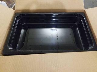 Carlisle 10201b03 Storplus Full Size Food Pans  Polycarbonate  4  Deep  Black