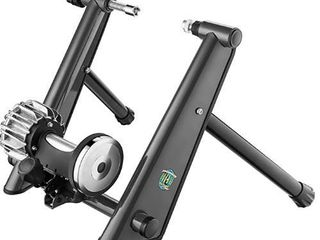 RAD Cycle RoboMag Bike Trainer Indoor Bicycle Exercise Fluid Resistance Allows You to Work Out with Your Bike Anywhere