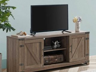 58  TV Stand Brown   Home Essentials