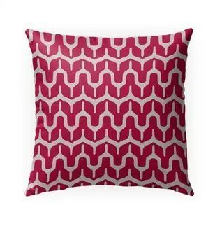 Maria Red Indoor Outdoor Pillow by Kavka