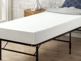 Twin Size Priage by ZINUS 6 Inch White Memory Foam Mattress Retail   105 99