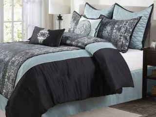 Grand Avenue Sierra 8 Piece Comforter Set  King