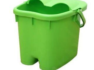 Foot Massage Spa Bath Bucket lARGE  Green