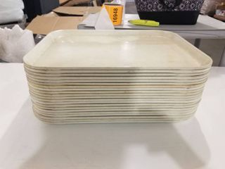 lot of Cafeteria Trays