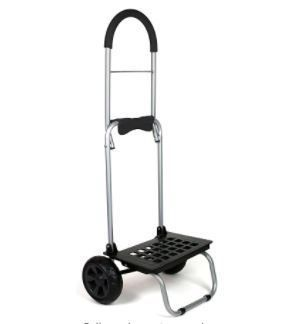 Mighty Max Personal Dolly  Black Handtruck Cart Hardware Garden Utilty