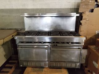 Sunfire 10 Burner Range w 2 Ovens Below