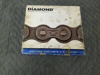Diamond Chain X 1466 010 Roller Chain 40 Riv Ch 10ft