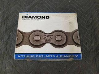 Diamond X 1550 010 50 Riv 10ft 5 8in Single Roller Chain