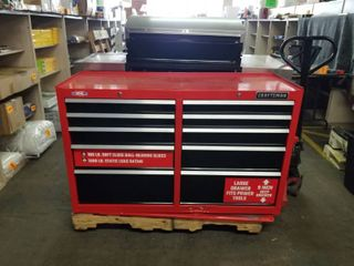 CRAFTSMAN TOOlBOX No Keys Only 1 Drawer Opens