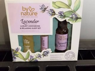 By Nature Zealand lavender Pillow Spray  Bath   Body Essential Oils Set