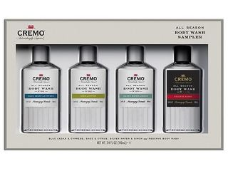 Cremo All Season Body Wash Sampler Giftset   4pc