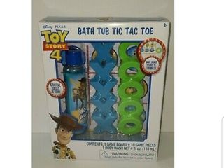 Toy Story 4 Bath Tub Tic Tac Toe With Body Wash