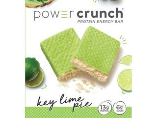 Powercrunch Original Protein Bar, 13g Protein, Key Lime Pie, 7 Oz, 5 Ct EXP 08/21 RETAIL $ 11.99