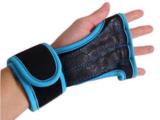 Hard Out Training Gloves Blue Xl