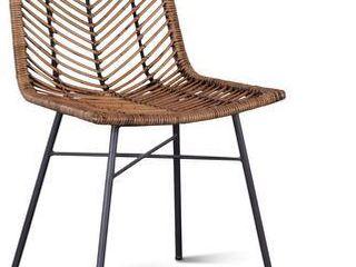 Bali Kubu Rattan Dining Chairs, Set of 2 Retail:$394.99