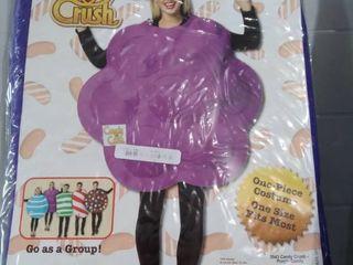 Rasta Imposta Women's Candy Crush/Corona Virus Costume, Purple, One Size