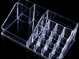Anleolife Acrylic Clear Cosmetic Organizer