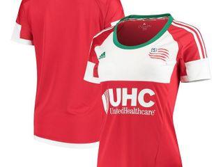 MLS New England Revolution Womens Replica Short Sleeve Team Jersey, Black, Small