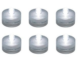 (Pack of 6) Submersible Battery LED Lights (Pack of 6)