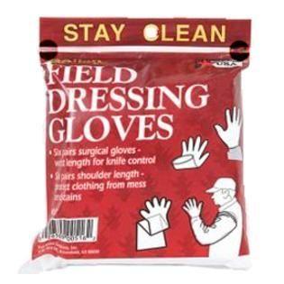 2packs-Allen Company Field Dressing Gloves Pack