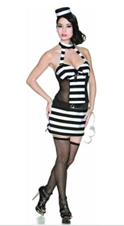 Delicious Trouble Costume, Black/white, Small Brand