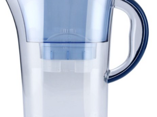 life easy six cup BPA free water filter pitcher 2.5 l