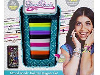 The Bridge Direct Strand Bands Super Designer  Strand Styler  Teal Toy