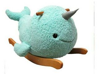 Adorable Narwhal Rocking Horse