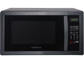 Farberware Classic FMO11AHTBSB 1 1 Cu  Ft  1000 Watt Microwave Oven  Black Stainless Steel