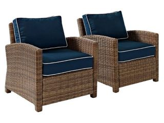 Single Bradenton Outdoor Arm Chair  No Cushion Covers Included