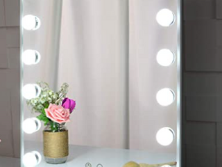 Beautme Beauty Mirror with Accent lights