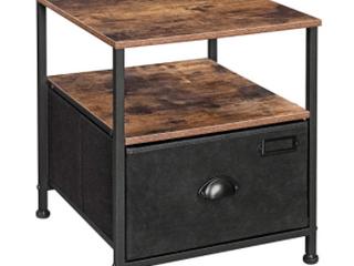 Songmics Drawer Cabinet   Brown  Black