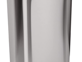 Brushed Stainless Steel 13 Gallon Touchless Trash Can