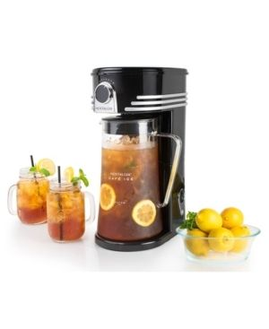 Nostalgia CI3BK Cafe Ice 3 Quart Iced Coffee and Tea Brewing System