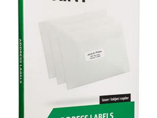 "Best Print Address 30 Labels 1""x25/8"" per sheet"