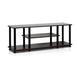 Porch   Den Stuyvesant Open Shelves 3 tier Entertainment TV Stand  Retail 79 98