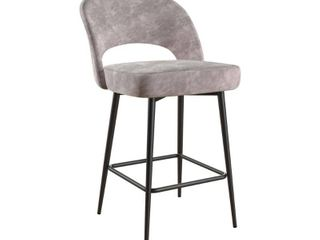 Cosmoliving Alexi Upholstered Counter Stool  Retail 125 49