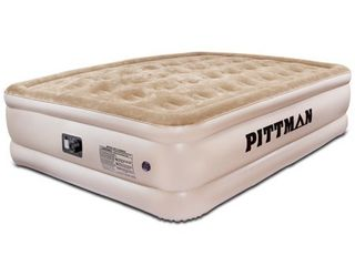 Pittman Ultra Double High Queen Air Mattress with Built in Pump  Retail 98 49