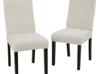 Corbin Dining Chair  Set of 2  by Christopher Knight Home  Retail 204 99