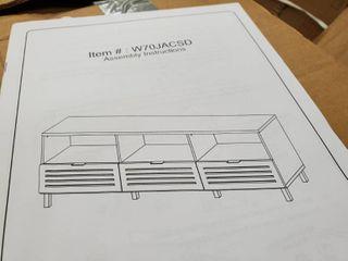 Walker Edison tv stand
