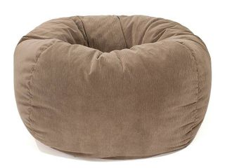 GOlD MEDAl Bean Bag  Microsuede Corduroy  Small 105  Toast  Retail 97 99