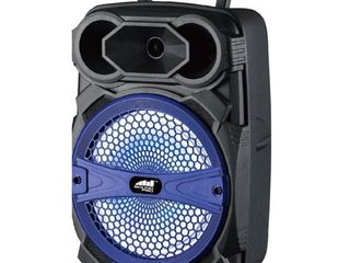 8 Inch Portable Party Speaker with lED lighting Effects