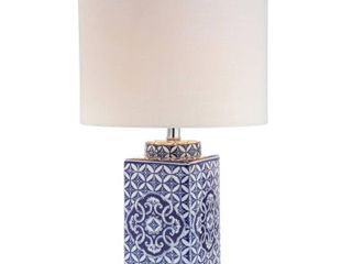 Choi 23  Chinoiserie lED Table lamp  Blue White by JONATHAN Y  Retail 84 49