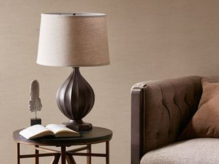 Rowan Black Table lamp by Hampton Hill
