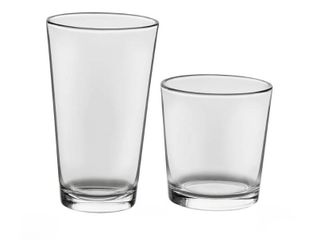 libbey Flare 16 Piece Tumbler and Rocks Glass Set